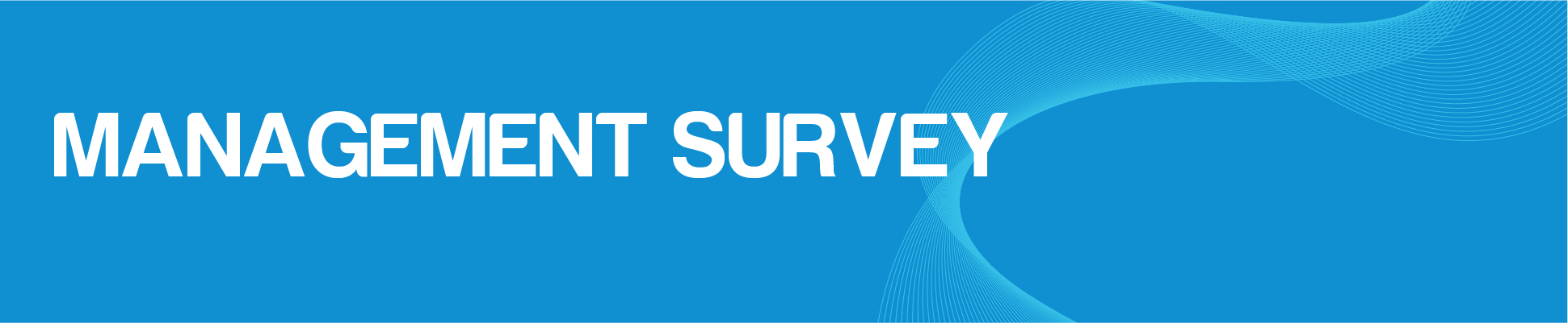 Management Survey Banner